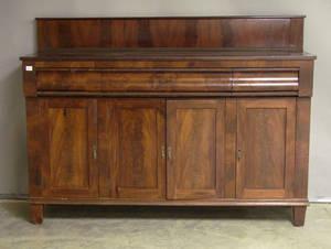 Empire mahogany sideboard
