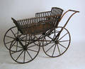 Victorian painted stroller