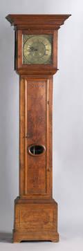 William  Mary tall case clock ca 1720