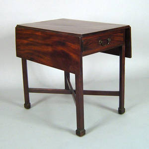 Philadelphia Chippendale mahogany pembroke table ca 1780