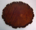Chippendale mahogany piecrust tray late 18th c