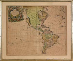 New Map of America published in London 1721