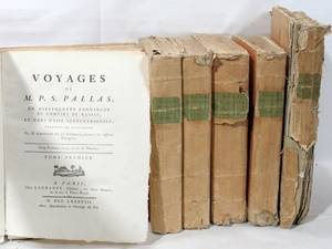012083 PIERRE PALLAS VOYAGES DE PALLAS PARIS 1793