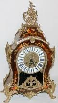 031168 LOUIS XV STYLE BRACKET CLOCK BY FRANZ HERMEL