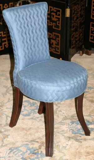 041273 REGENCY STYLE MAHOGANY SIDE CHAIR H 36
