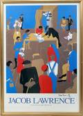 040262 JACOB LAWRENCE MUSEUM POSTER THE 1920S