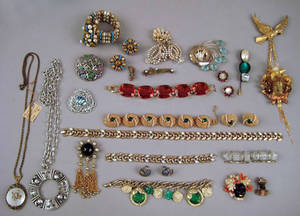 Vintage and other costume jewelry