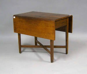 Chippendale cherry pembroke table