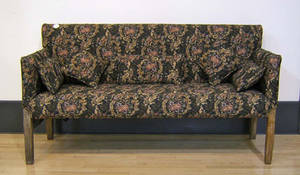 Country Chippendale sofa
