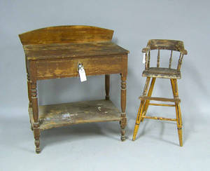 Pennsylvania pine washstand