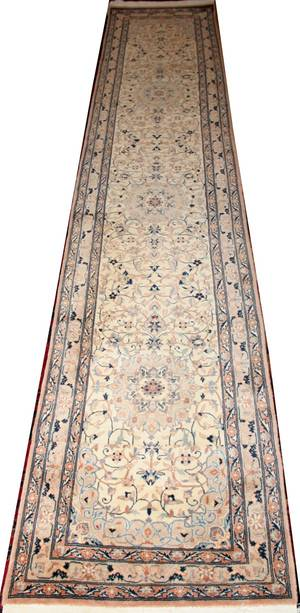022313 KERMAN PERSIAN WOOL RUNNER 13 X 2 7
