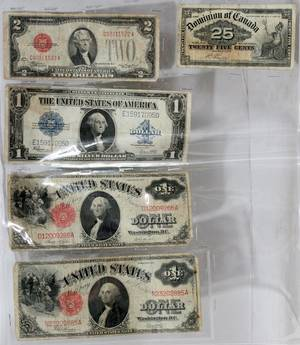020343 US PAPER CURRENCY LG SM NOTES 19001928 5