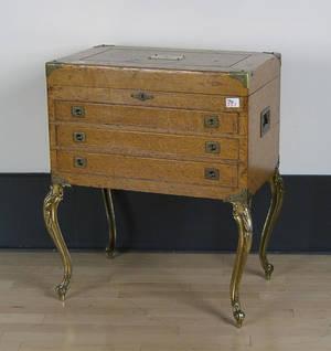 Oak silver chest