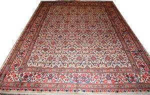 042327 TABRIZ WOOL PERSIAN CARPET 11 9 X 8 10
