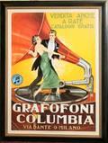 022361 POSTER PRINT GRAFOFONI COLUMBIA 60 X 45