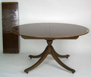 Georgian style drum table