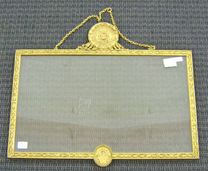 Gilt bronze frame