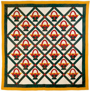 Pennsylvania Mennonite pieced quilt