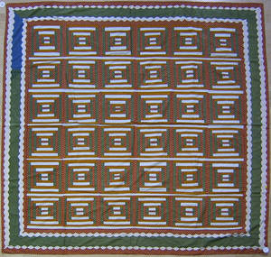 Pennsylvania pieced summer quilt ca 1910