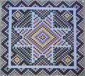 Pennsylvania calico pieced quilt ca 1900