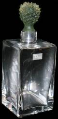 021440 DAUM FRENCH CRYSTAL DECANTER H 9 12