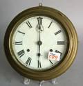 Seth Thomas brass clock