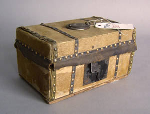 Hide covered lock box