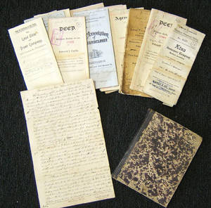 Large group of Pottstown area ephemera to include deeds