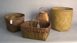 Mohawk woven basket