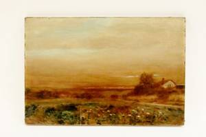 L 19th CE 20th C American Landscape Oil
