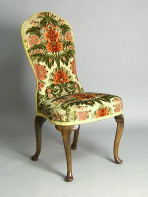George II style back stool