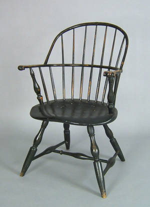 Philadelphia sackback windsor armchair ca 1770