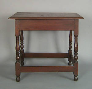 Pennsylvania walnut tavern table ca 1770