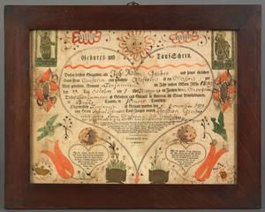 Johann Friederich KrebsSoutheastern Pennsylvania active 17841812