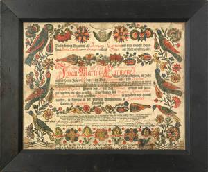 Johann Heinrich Otto Southeastern Pennsylvaniaactive 17621797