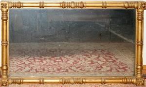 042033 FEDERAL GILT WOOD MIRROR C 1820 H 29 L 47