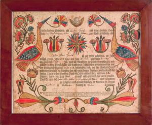 Georg Friederich SpeyerSoutheastern Pennsylvania active 17741801