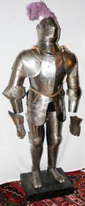 032015 KNIGHTS IRON ARMOR COMPLETE SET 19TH C