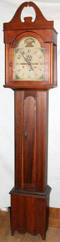 030011 RILEY WHITING WINCHESTER CHERRY CASE CLOCK