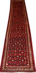 010037 HAMADAN PERSIAN WOOL RUNNER 27x129