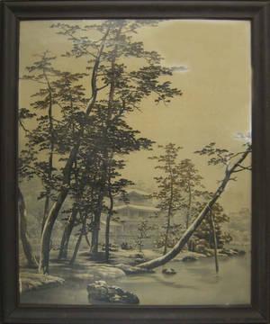 Japanese silkwork picture