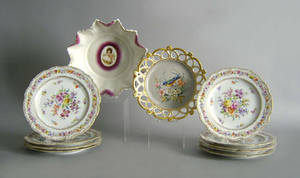 Nine Dresden plates