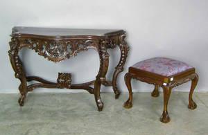 Mahogany pier table