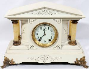 080085 SETH THOMAS EIGHTDAY MANTLE CLOCK C 1930