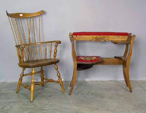 Reproduction fanback windsor chair