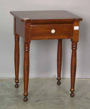 Sheraton cherry one drawer stand
