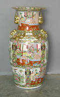 Contemporary Chinese export palace urn
