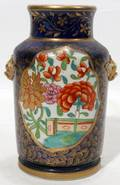 091240 TUNSTON ENGLISH IRONSTONE VASE C 1890