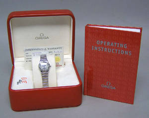 Ladies Omega Constellation wrist watch