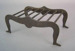 Wrought iron trivet 19th c